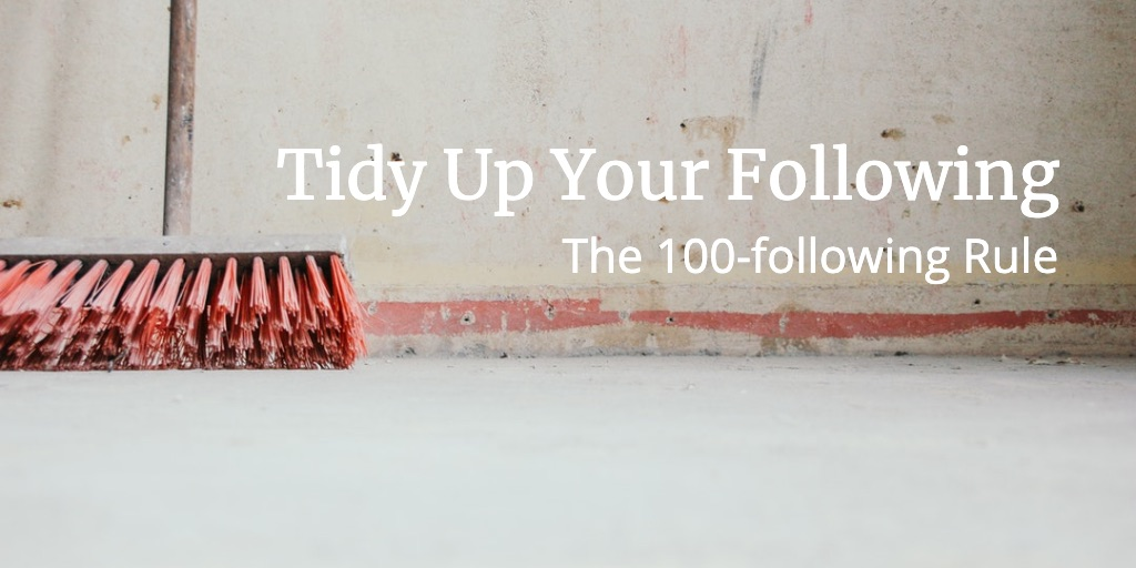 The 100-following rule